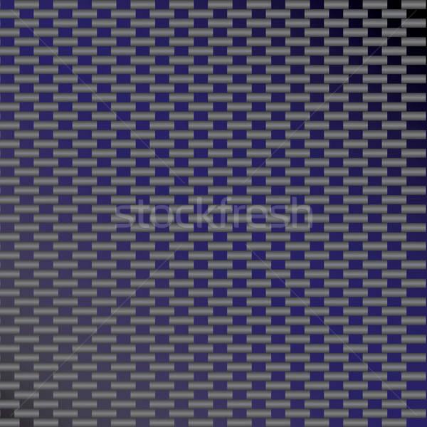 Blauw koolstofvezel vector gewoonte textuur formaat Stockfoto © ArenaCreative