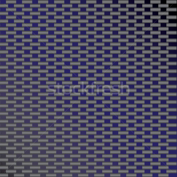 Blue Carbon Fiber Vector Stock photo © ArenaCreative