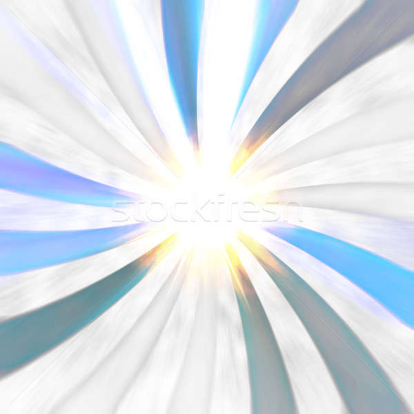 Futuristic Radial Burst Stock photo © ArenaCreative