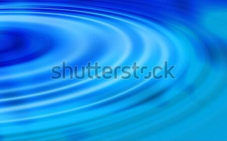 blue water ripples Stock photo © ArenaCreative