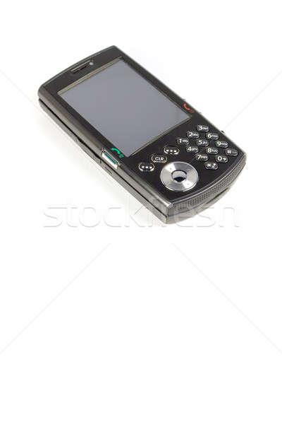 изолированный современных сотового телефона белый телефон Сток-фото © ArenaCreative