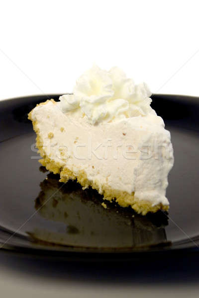 Strawberry cheesecake dilim krem şanti gıda meyve kek Stok fotoğraf © ArenaCreative