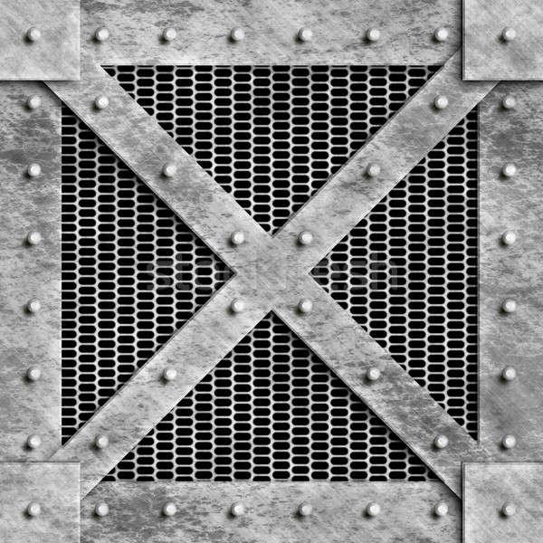 Steel Box Stock photo © ArenaCreative