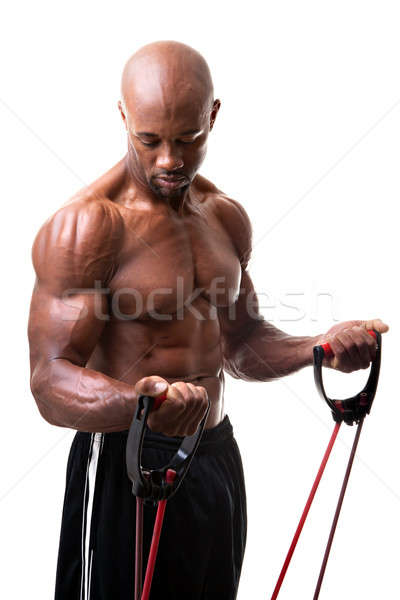 Resistance Band Training Stock photo © ArenaCreative