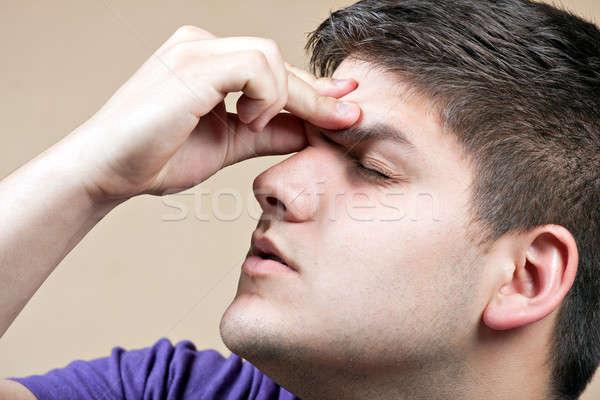 Teen With a Headache Stock photo © ArenaCreative