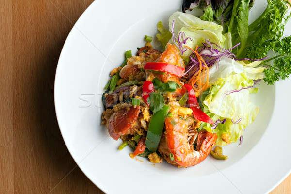 Thai Jumbo Shrimp Salad Stock photo © ArenaCreative
