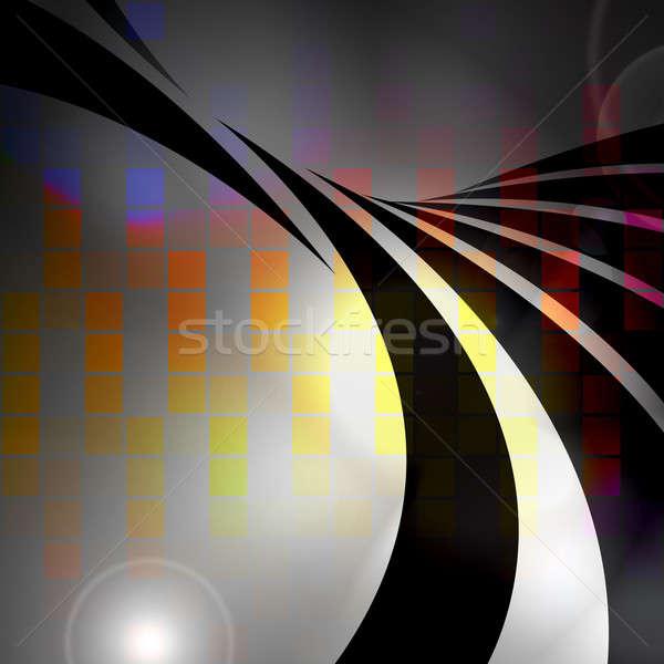 Colorful Audio Waveform Stock photo © ArenaCreative