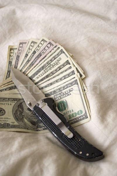 Dirty Cash Stock photo © ArenaCreative