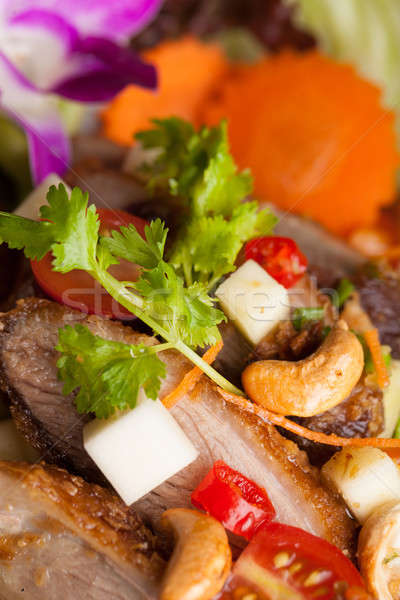 Thai insalata croccante anatra fresche verde Foto d'archivio © arenacreative