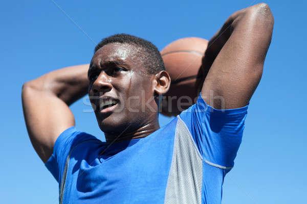 Basketball Dunker Close Up Stock photo © arenacreative