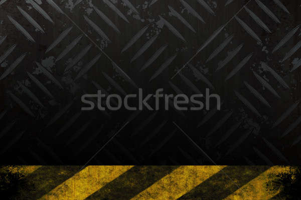 Grungy Hazard Background Stock photo © ArenaCreative