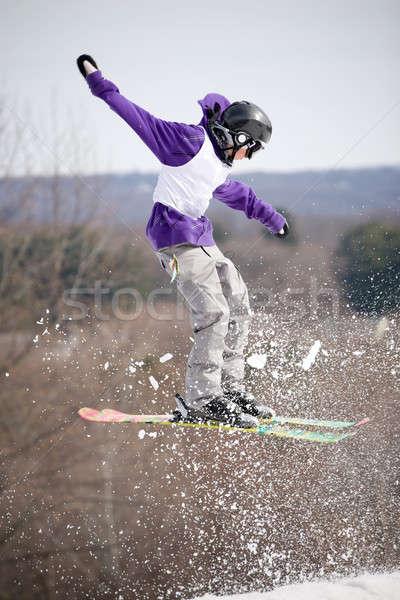 Ski Jumper Stock photo © ArenaCreative