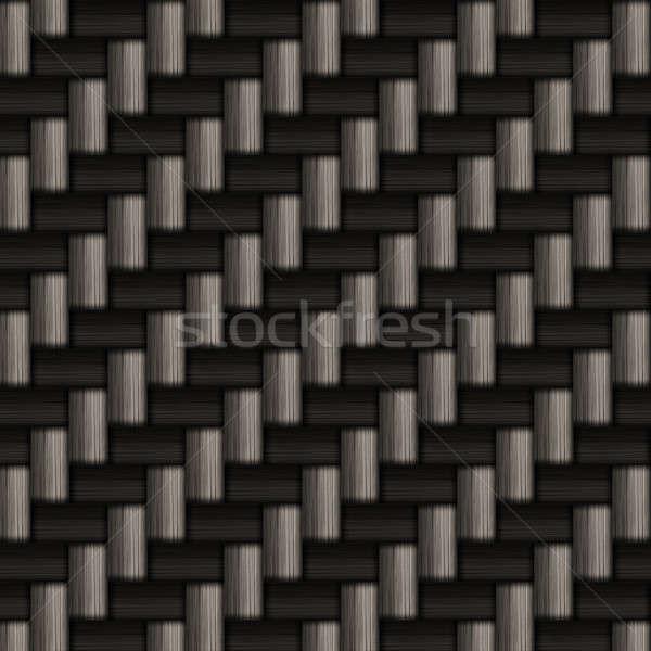 Karbon fiber doku muhteşem ışık dizayn teknoloji Stok fotoğraf © ArenaCreative