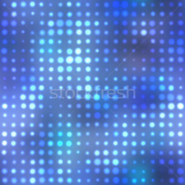 Funky halftone kék sorok modern néz Stock fotó © ArenaCreative