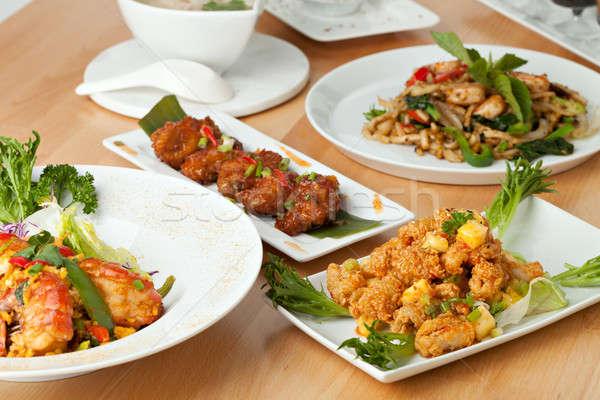 タイ料理 料理 タイ 食品 前菜 ストックフォト © arenacreative