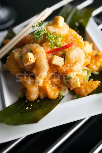 Crispy Thai Shrimp Dish Stock photo © arenacreative