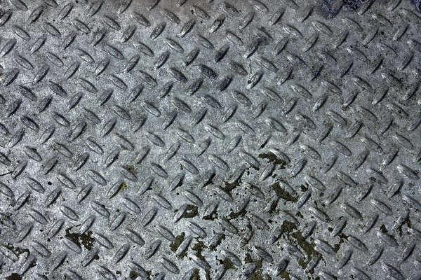 Diamond Plate Steel Texture Stock photo © ArenaCreative