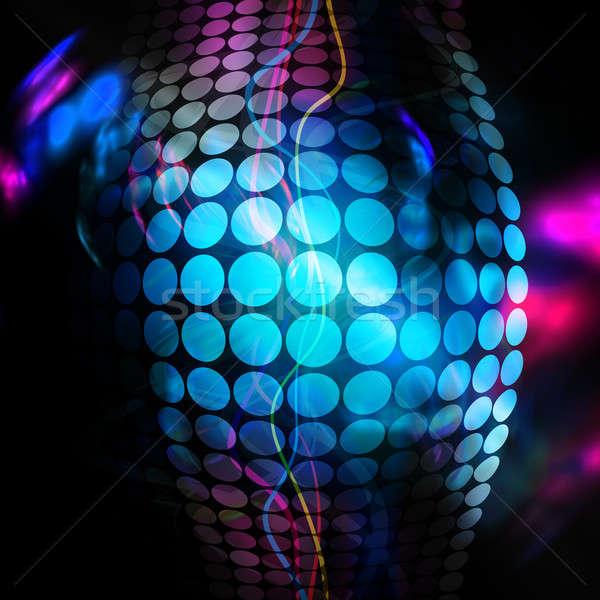 Funky 3D Background Stock photo © ArenaCreative