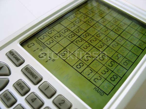 Electronic Sudoku Stock photo © ArenaCreative