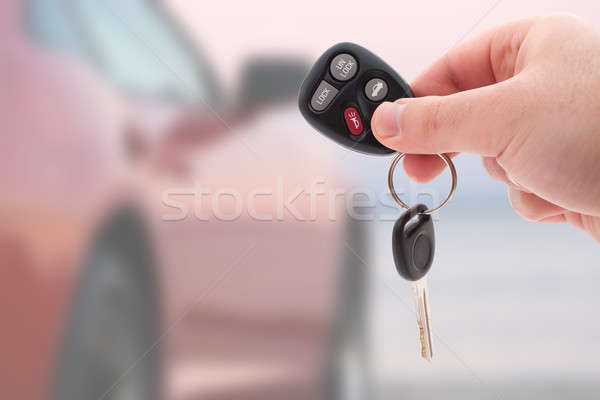 Car Keys and Remote Stock photo © ArenaCreative