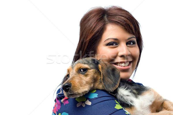Vet Holding a Puppy Stock photo © ArenaCreative
