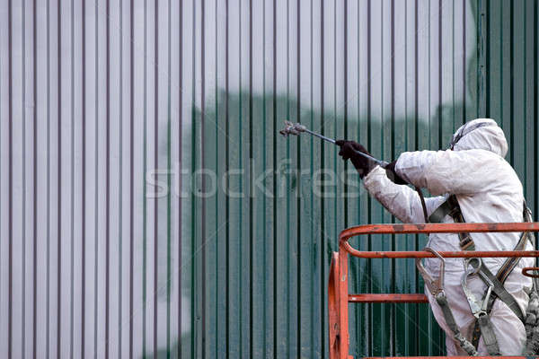 Commercial Painter Stock photo © ArenaCreative
