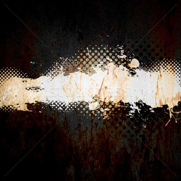 Grungy Splatter Template Stock photo © ArenaCreative