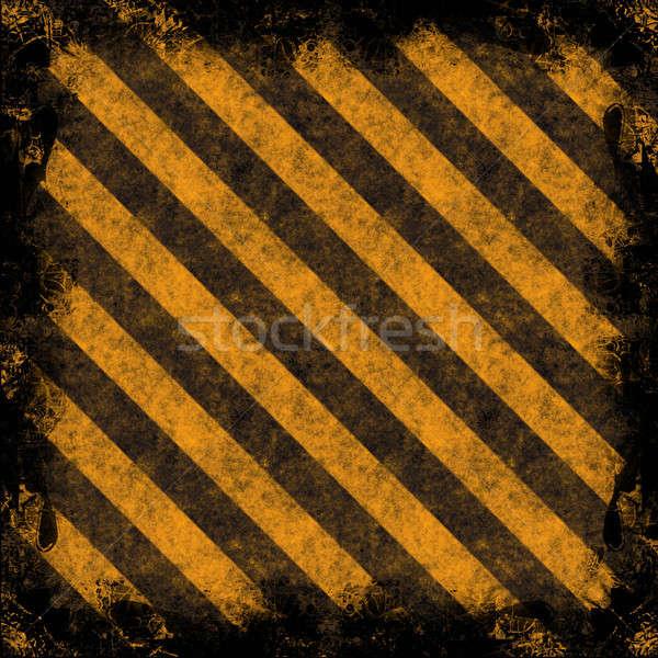 опасность диагональ текстуры выветрившийся Сток-фото © ArenaCreative