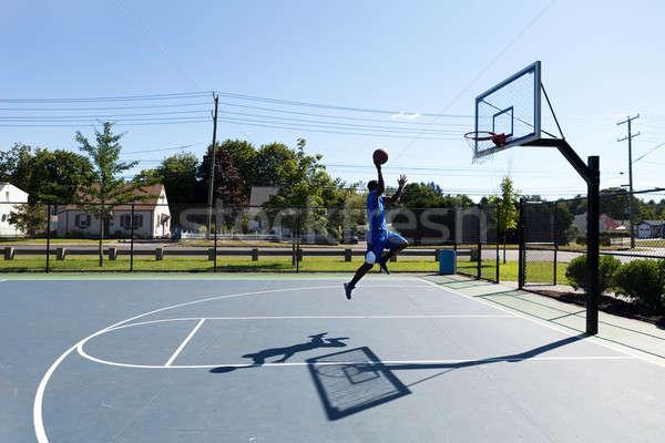 Basketball Dunker Flying Stock photo © arenacreative
