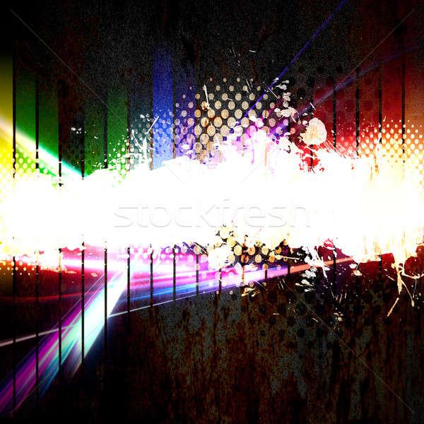 Photo stock: Funky · urbaine · grunge · layout · ville · style