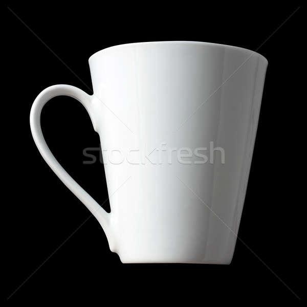 белый чашку кофе изолированный черный продовольствие кофе Сток-фото © ArenaCreative