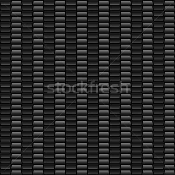 Naadloos grijs koolstofvezel materiaal groot patroon Stockfoto © ArenaCreative
