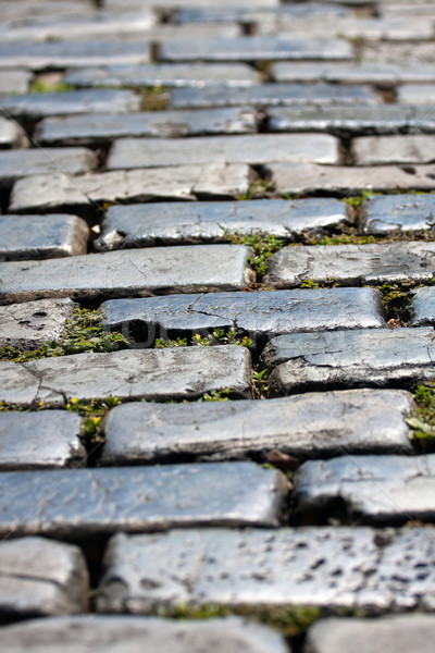 Old San Juan Cobblestone Stock photo © ArenaCreative