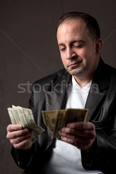 Shady Cash Earnings Stock photo © ArenaCreative