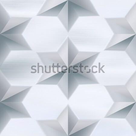 Star Studded Brushed Metal Stock photo © ArenaCreative