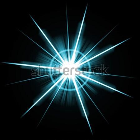 Absztrakt becsillanás nagyszerű nap fény terv Stock fotó © ArenaCreative