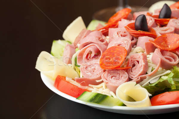 Tasty Antipasto Salad Stock photo © ArenaCreative