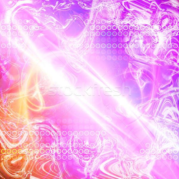 Abstract plasma textuur roze gekleurd heldere Stockfoto © ArenaCreative