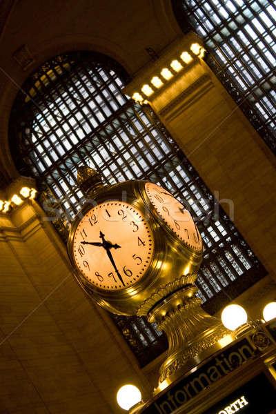 Stock photo: Grand Central Clock