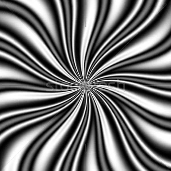 b&w Swirly Vortex Stock photo © ArenaCreative