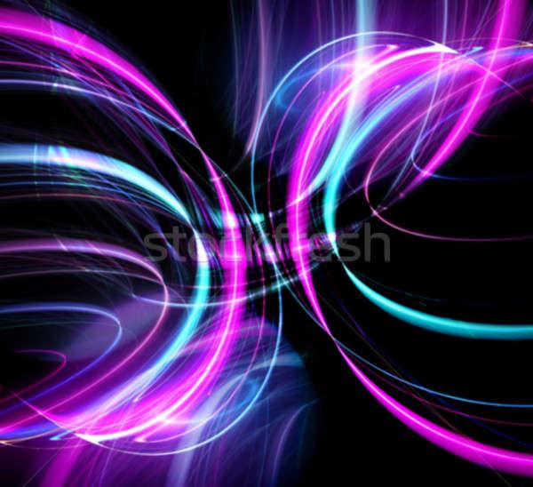 Сток-фото: дискотеку · фары · аннотация · фрактальный · дизайна