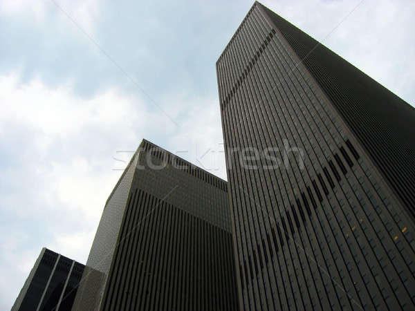 Corporate architectuur voorbeeld moderne werk ontwerp Stockfoto © ArenaCreative