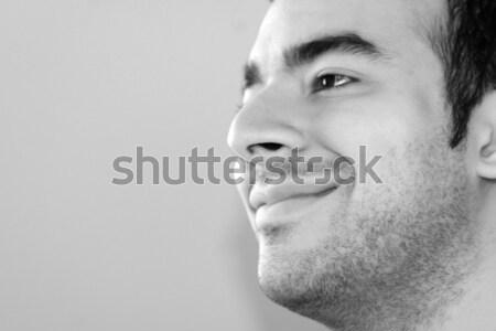 cell phone portrait Stock photo © ArenaCreative