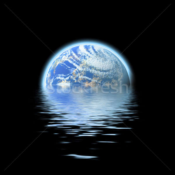 earth submerged Stock photo © ArenaCreative