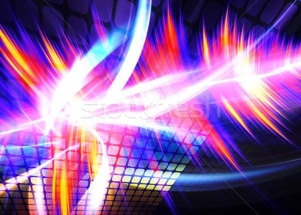 Funky Rainbow Waveform Stock photo © ArenaCreative