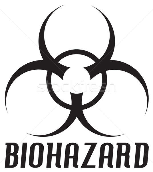 Biohazard Symbol Stock photo © ArenaCreative