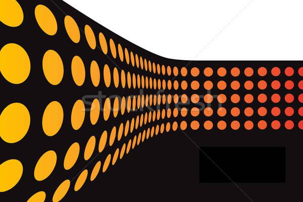 3D Dots Wall Stock photo © ArenaCreative