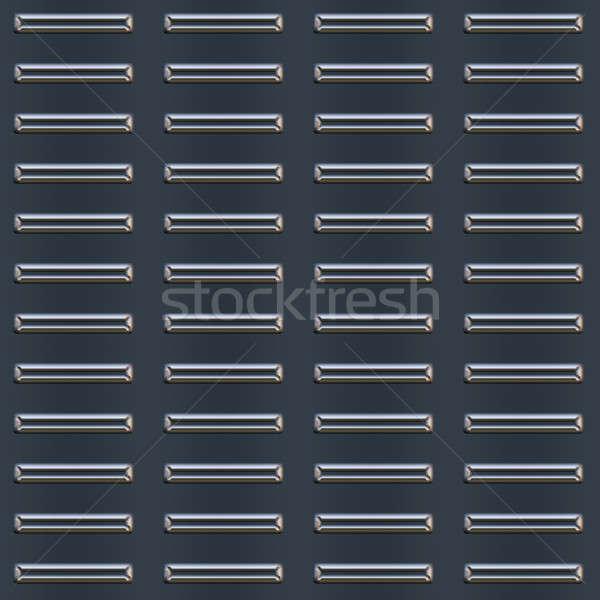 Bumped Metal Plate Pattern Stock photo © arenacreative