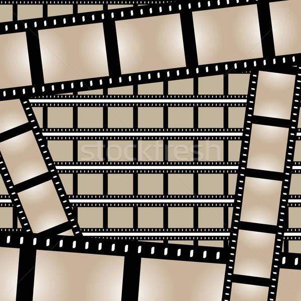 Films Strips Vector Stock photo © ArenaCreative