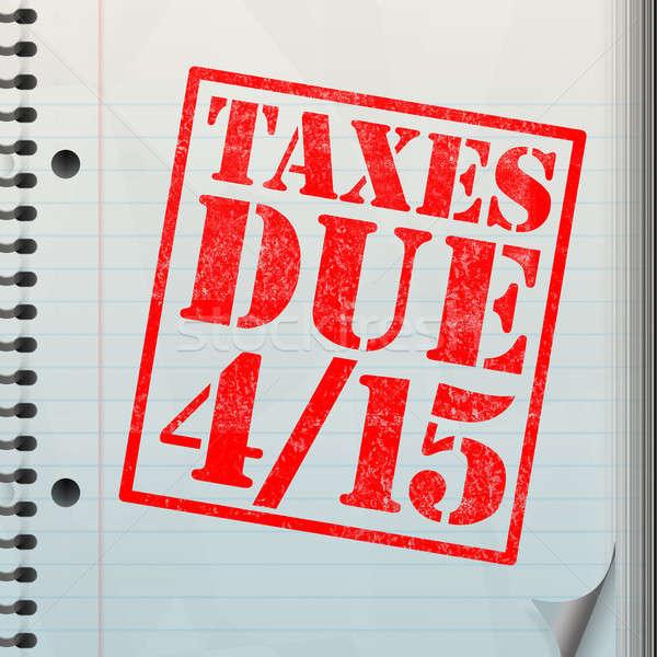 Tax Time Stock photo © ArenaCreative